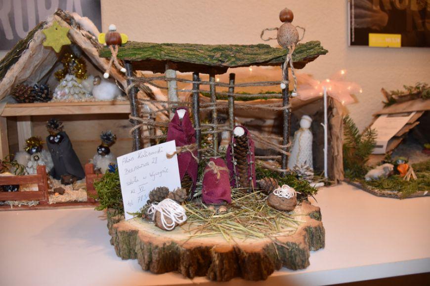 Najpiękniejsze szopki bożonarodzeniowe w Gminnym Ośrodku Kultury we Władysławowie - fot. UG Władysławów