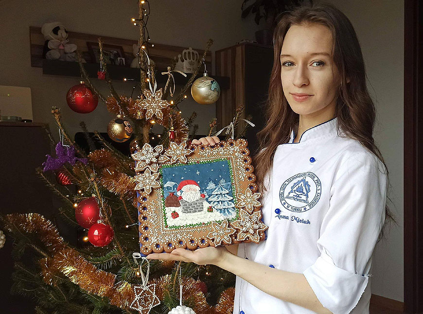 III miejsce uczennicy ZST w Ogólnopolskim Konkursie Dekorowania Pierników
