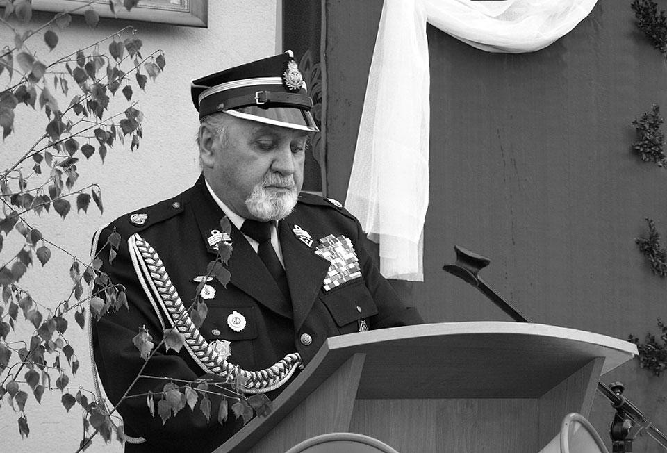 Odszedł dh Janusz Wojciechowski, wieloletni strażak, prezes Wojewódzkiego Zarządu OSP RP - fot. kaweczyn.pl / Paweł Janicki