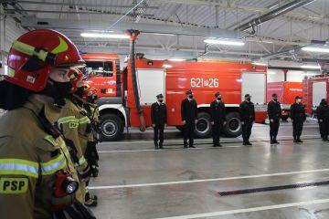 Awanse i gratulacje. Strażacy z PSP Turek...