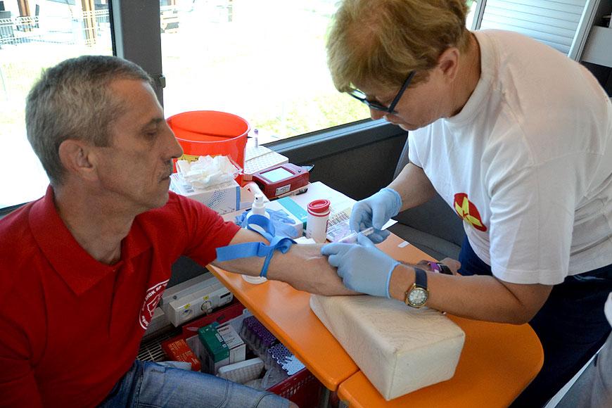 I Ty zostań Honorowym Dawcą Krwi. Kolejna akcja poboru krwi z SHDK Górnik.