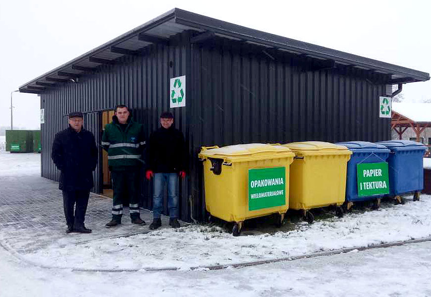 PSZOK w Kawęczynie otwarty. Zbiórka odpadów w każdą sobotę.