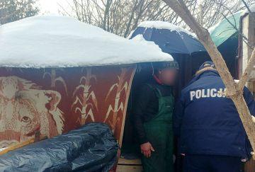 Policja i MOPS z pomocą dla bezdomnych