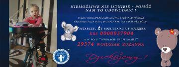 1% lokalnie - Zuzia Wojdziak - niemożliwe nie istnieje