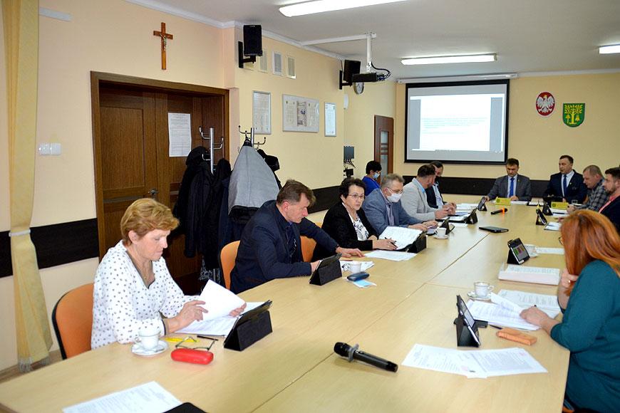 Pierwsza sesja Rady Gminy Malanów w 2021 roku