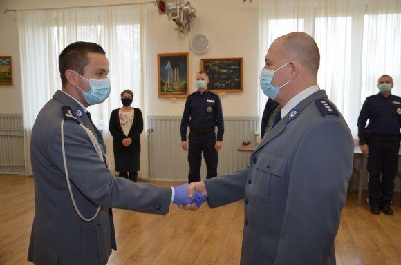 Nowy Komendant Komisariatu w Dobrej.