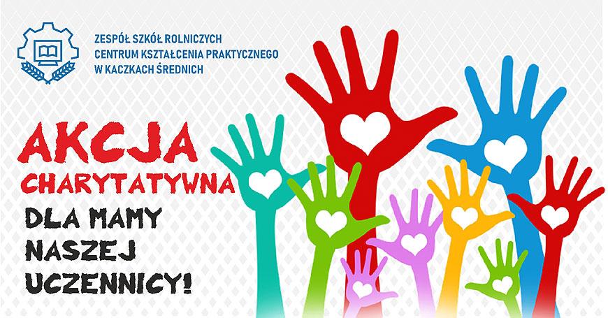 Społeczność ZSR walczy o zdrowie Pani Bogusi. Akcja charytatywna w Kaczkach Średnich.