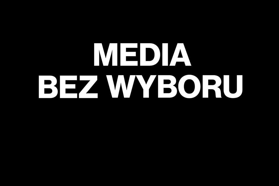 Media bez wyboru: Protest niezależnych mediów w całym kraju