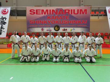 Karatecy z KSiSW na egzaminie w Ełku