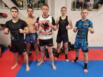 Zgrupowanie kadry K-1 i low kick juniorów w Legionowie z udziałem fighterów ze Strikera