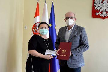 Akcja szczepień w DPS Skęczniew doceniona przez...