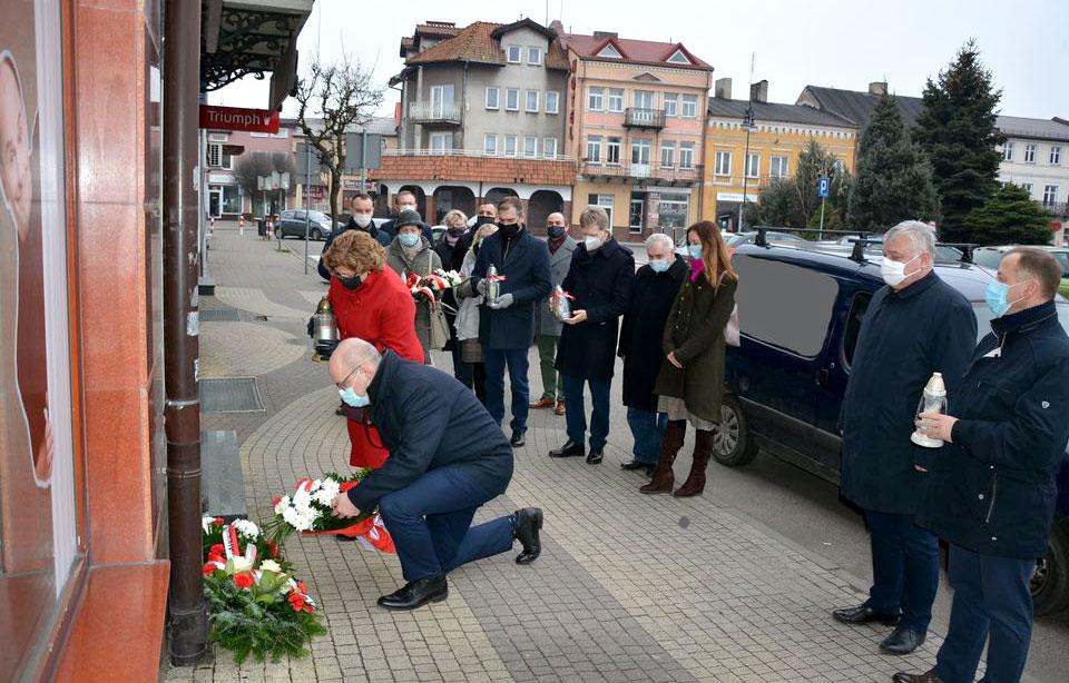 Pamięć o Żołnierzach Wyklętych wieczne żywa - fot. Starostwo Powiatowe w Turku