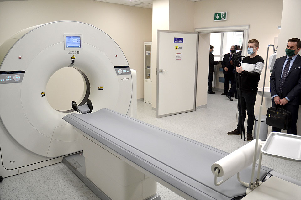 Wideo: Tomograf od dziś ratuje życie pacjentów w turkowskim szpitalu. Inwestycję wsparły wszystkie gminy.