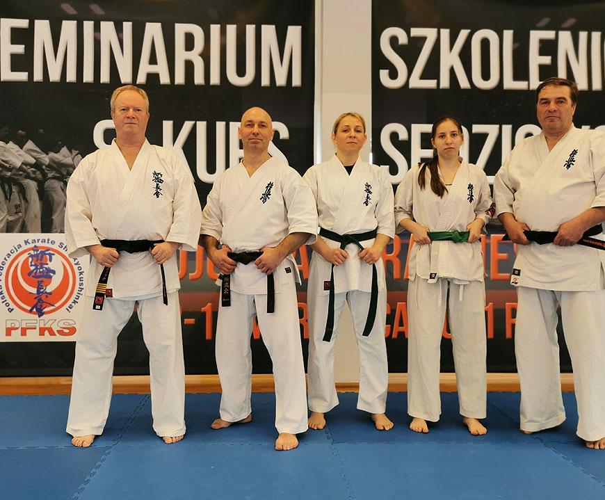 Szkoleniowcy z KSiSW na zgrupowaniu w Europejskim Centrum Karate