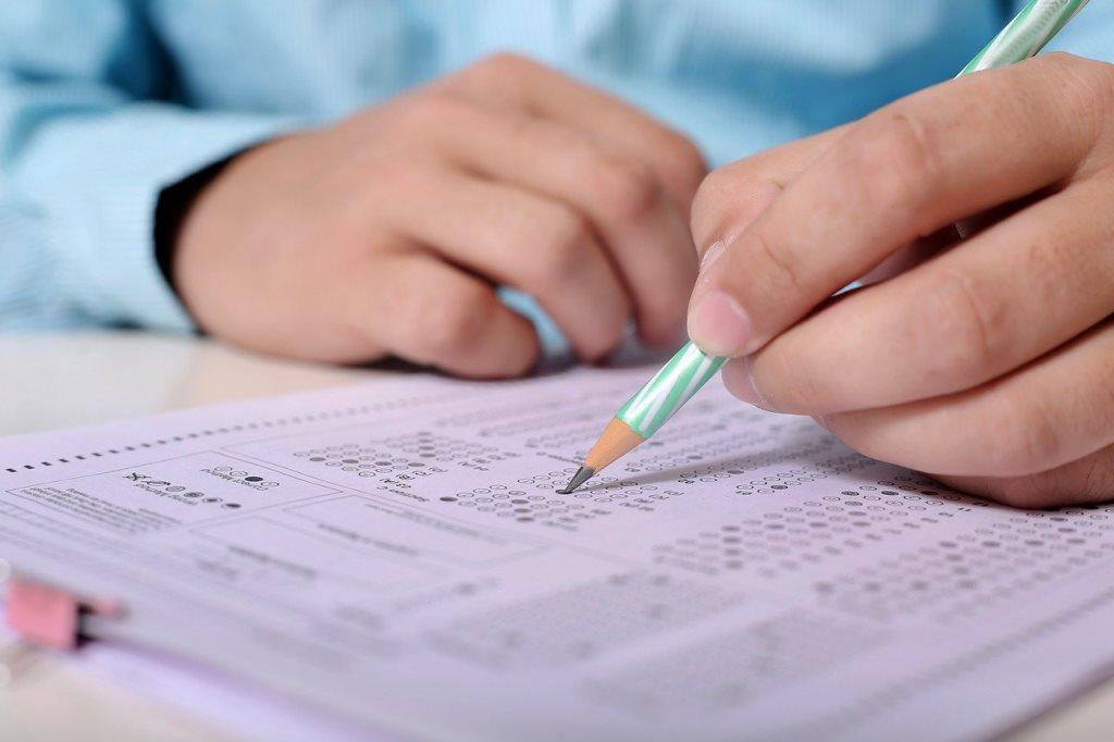 Próbne egzaminy ósmoklasistów 2021. W Turku przystąpiło 247 uczniów.