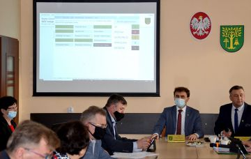 Pracowita XXV sesja Rady Gminy Malanów
