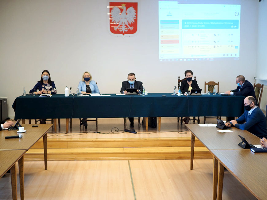 XXIX sesja Rady Gminy Władysławów