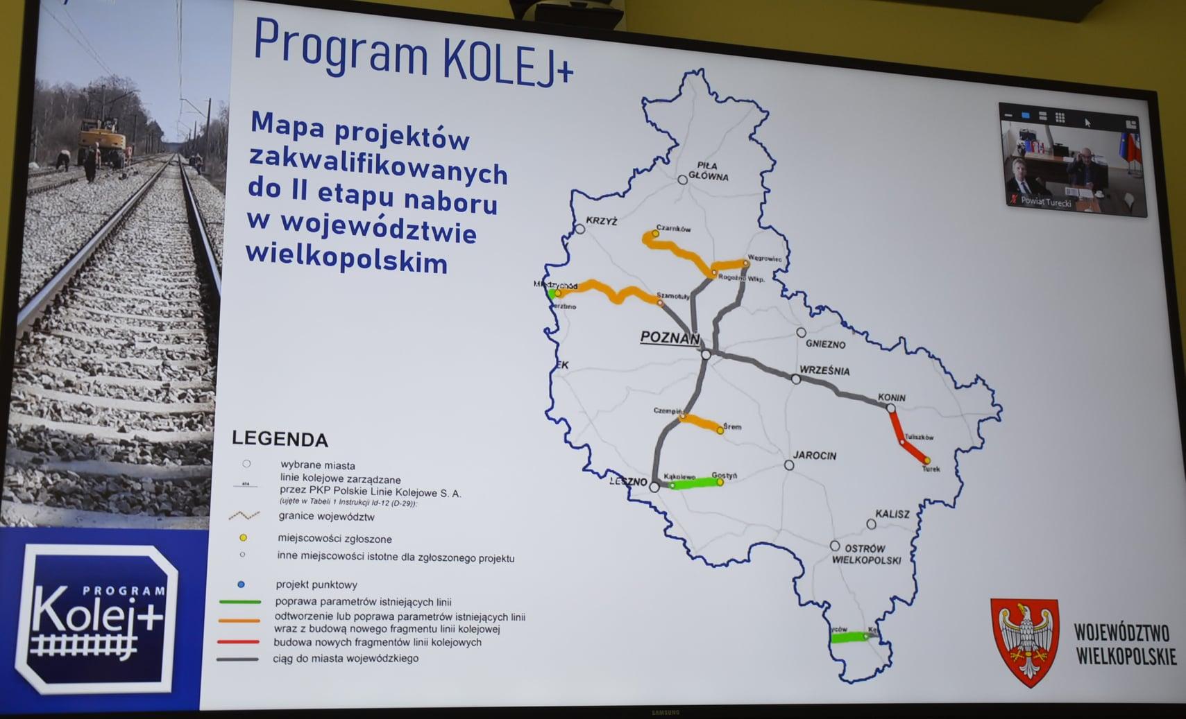 Wszystkie gminy z powiatu tureckiego za przygotowaniem projektu Kolej+ dla Turku