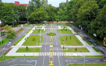 Pierwsze w powiecie miasteczko ruchu drogowego...