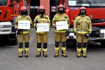 Strażacy z PSP Turek wspierają rodzicielstwo zastępcze