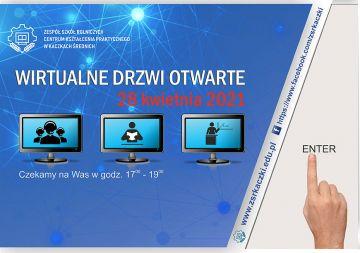 Wirtualne Drzwi Otwarte w ZSR już 28 kwietnia