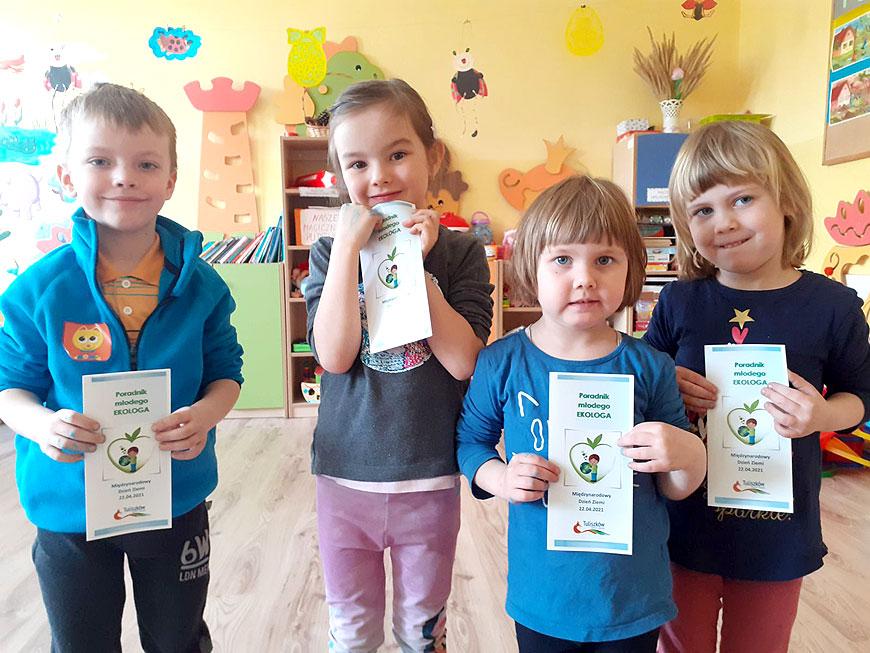 Poradniki młodego EKOLOGA dla najmłodszych z gminy Tuliszków