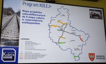Program Kolej Plus: Rozpisano przetarg na wstępną dokumentację linii Turek-Konin.