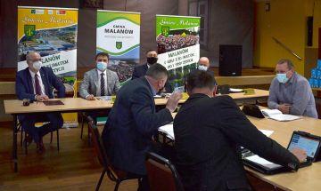 XXVI sesja Rady Gminy Malanów z udziałem...