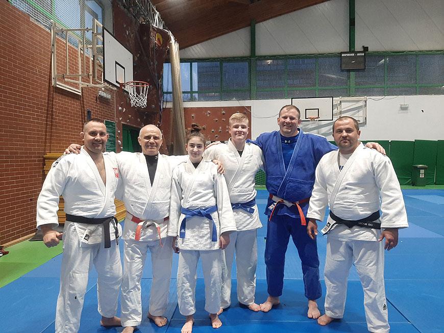Zawodnicy UKS Judo Tuliszków na zgrupowaniu Kadry Narodowej