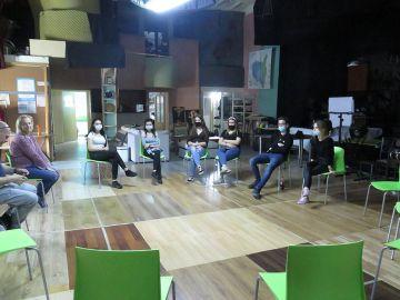 Młodzież z OHP Turek na spotkaniu w Przystani