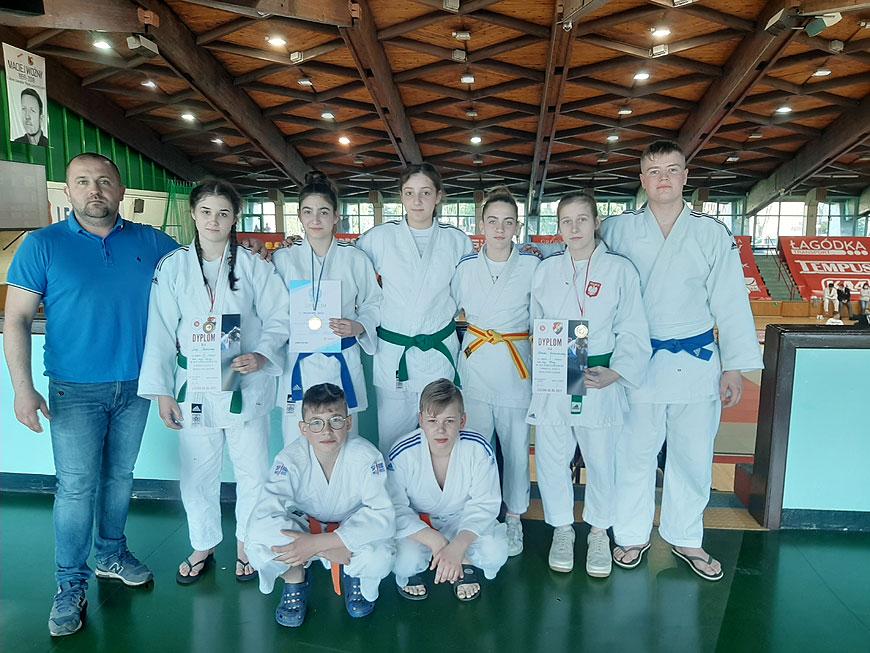 Pracowity weekend zawodników UKS Judo Tuliszków