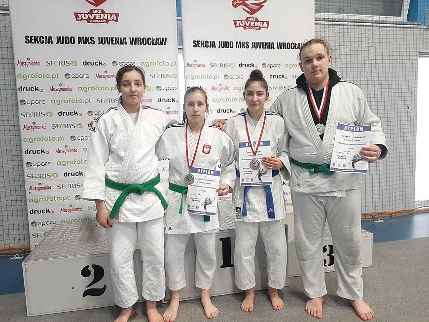 UKS Judo w Tuliszków na Mistrzostwach Młodzików i Juniorów