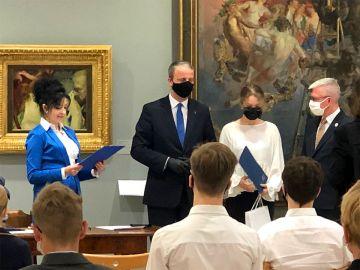 Uczennica ZS-P w Dobrej Martyna Milczarek w gronie najlepszych uczniów Wielkopolski.
