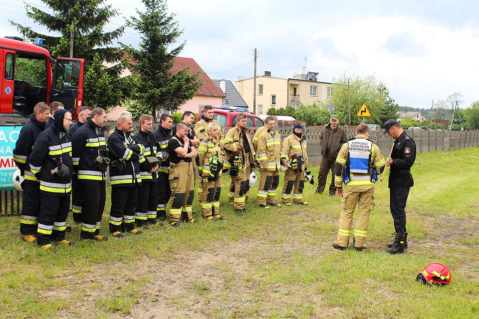 Strażacy ćwiczyli gaszenie pożarów na terenach leśnych