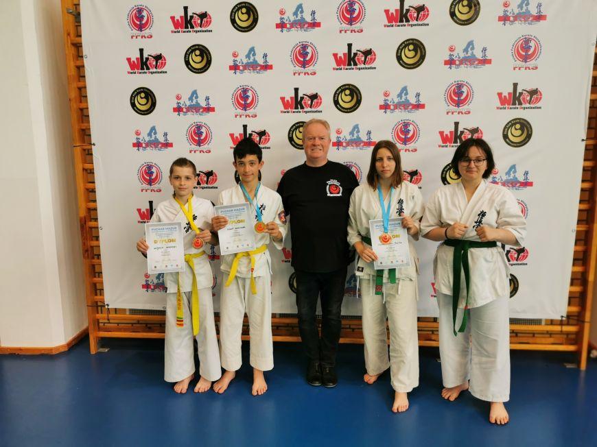 Trzy medale karateków KSiSW w Pucharze Mazur