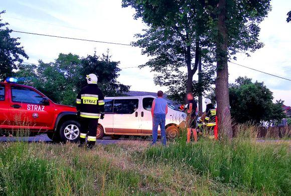 Wypadek motocyklisty w Kotwasicach. Kierowca...