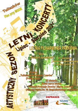Letnia Filharmonia Parkowa w Tuliszkowie