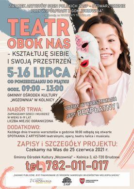 Warsztaty Teatralne w GOK Wozownia