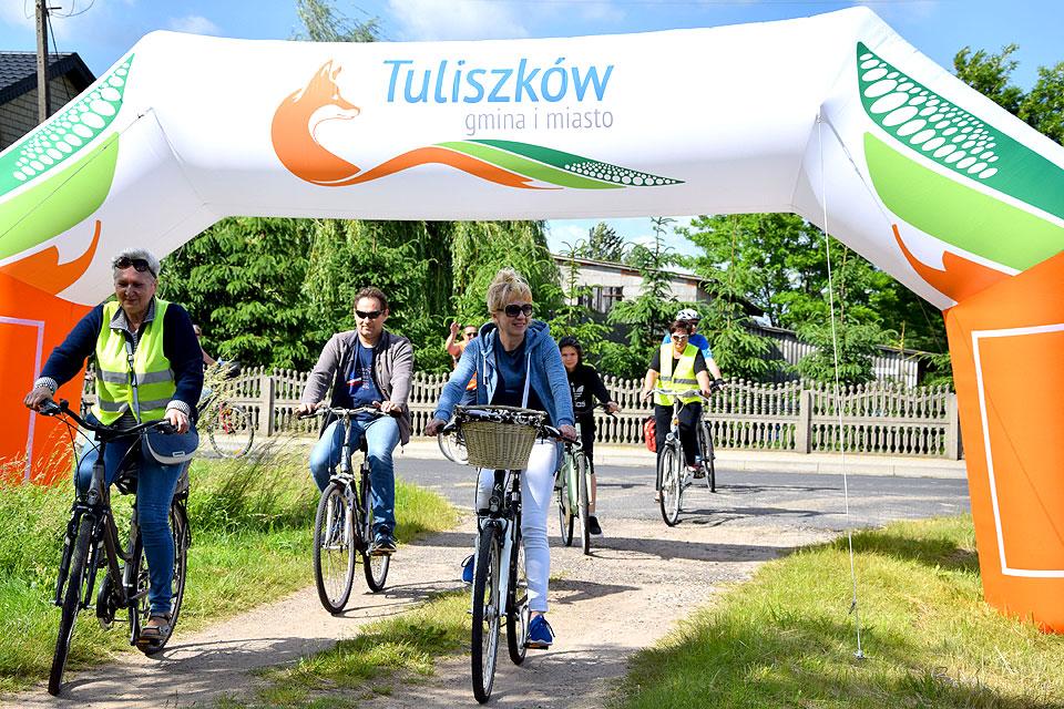 Rajd rowerowy w gminie Tuliszków