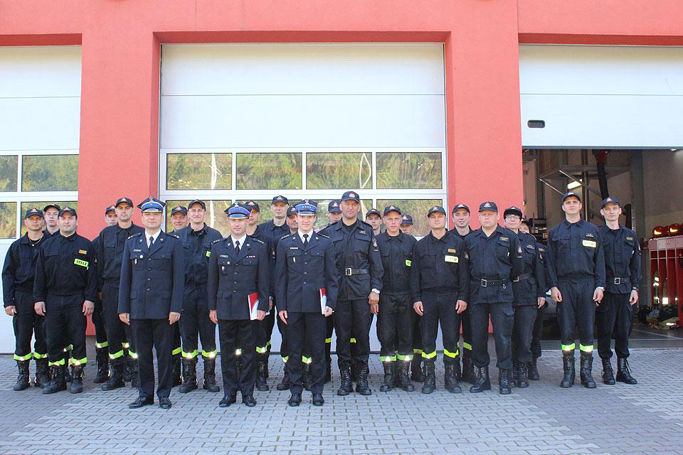 Nowy Naczelnik Wydziału Operacyjno-Kontrolno-Rozpoznawczego i Dowódca JRG PSP Turek
