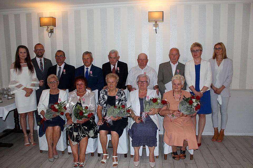 Pięć par świętowało 50-lecie zawarcia związku małżeńskiego