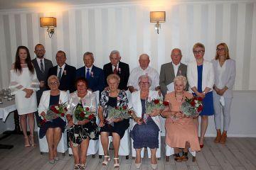 Pięć par świętowało 50-lecie zawarcia związku...