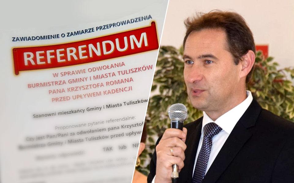 Referendum w Tuliszkowie do kosza. Burmistrz Krzysztof Roman zostaje