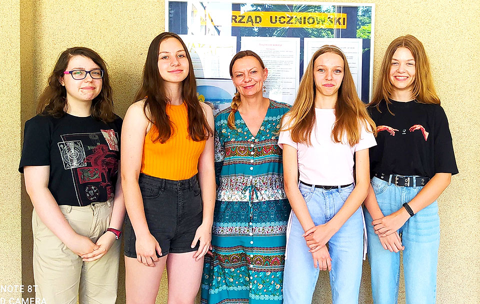 Uczennice SP5 laureatkami konkursu Sejmu Dzieci i Młodzieży