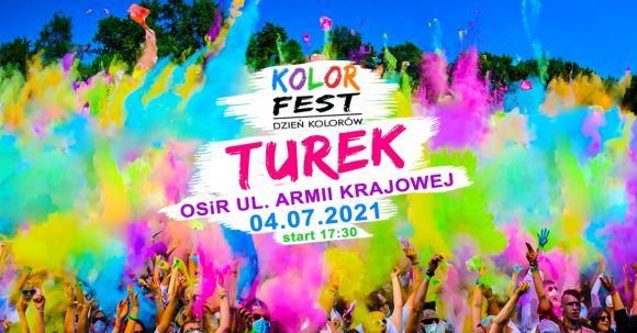 Kolor Fest Turek - Dzień Kolorów Holi w Turku!