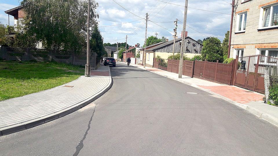 Otwarcie ulicy ks. J. Sperczyńskiego w Dobrej