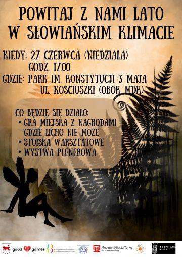Powitaj z Nami Lato w Słowiańskim Klimacie