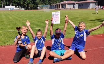 Złoty medal UKS Sprinter na Mistrzostwach...