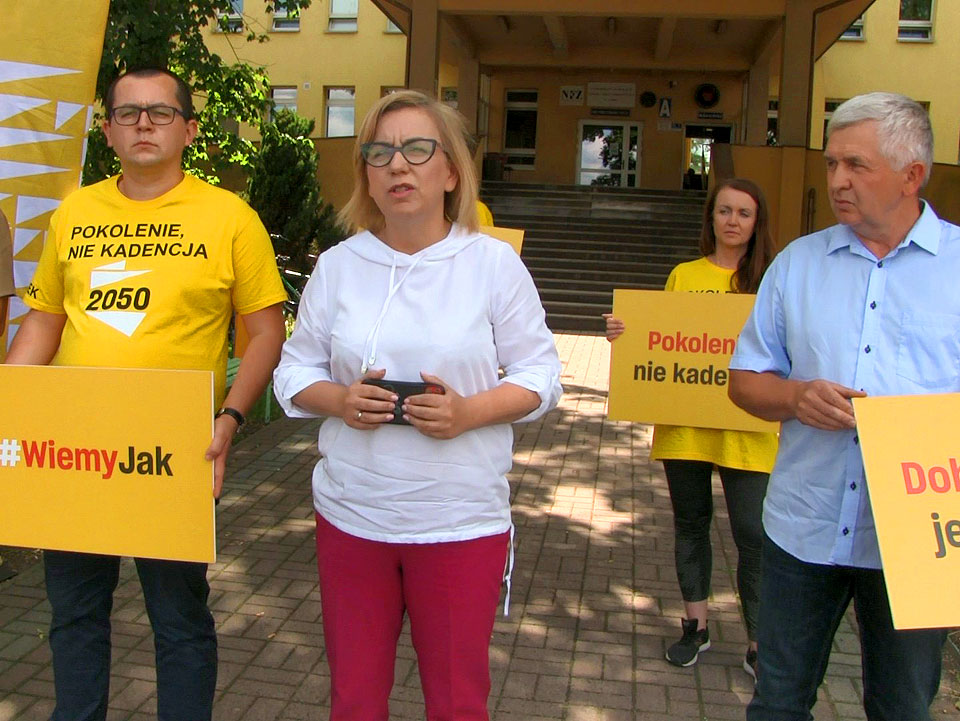 Wideo: Paulina Hennig-Kloska o problemach szpitala w Turku oraz ustawie odorowej.
