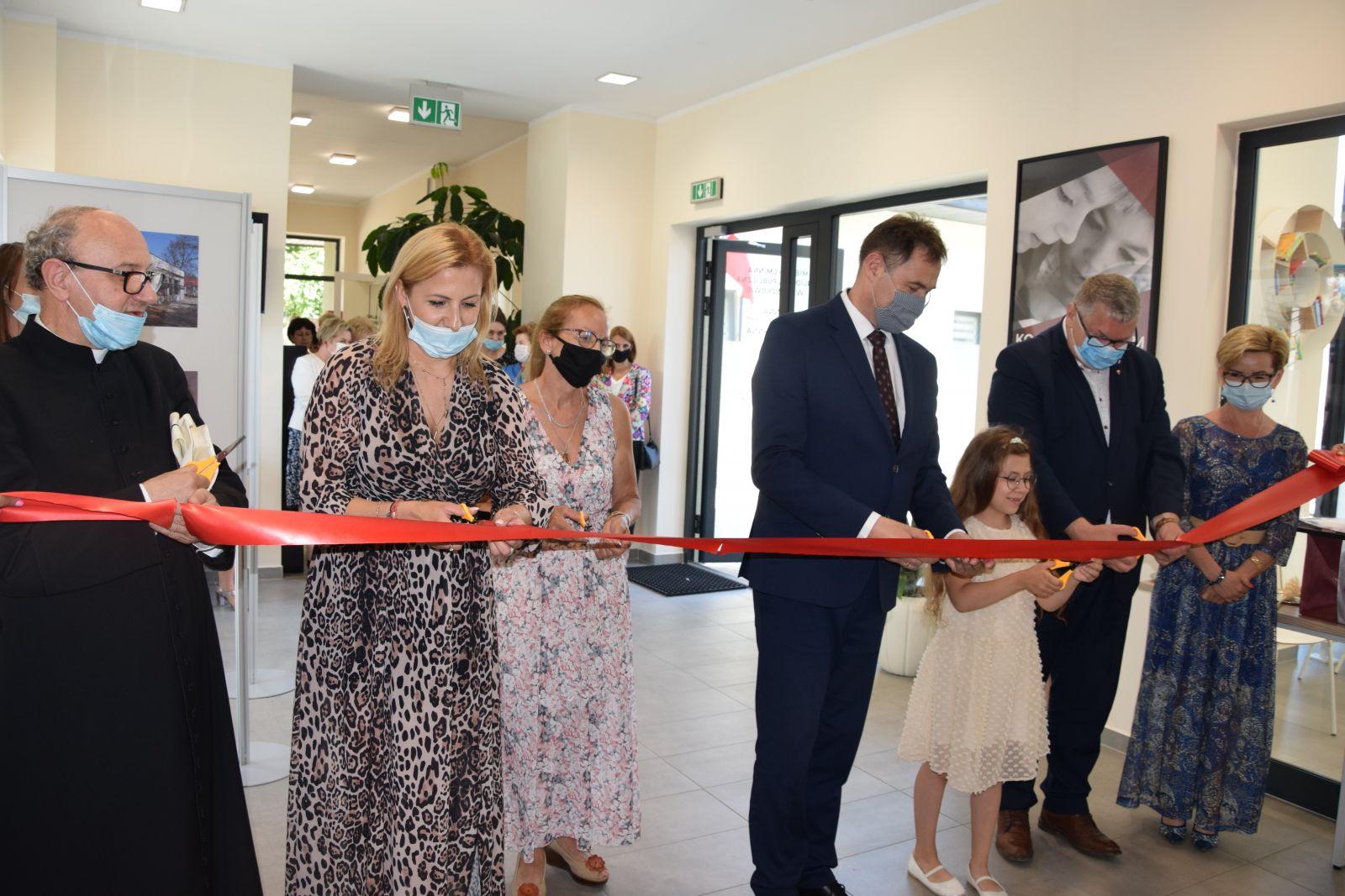 Uroczyste otwarcie nowej siedziby Miejsko- Gminnej Biblioteki Publicznej w Tuliszkowie.